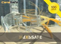 LiTe™ Clear Lens - (100 PCS) = AED1,033.60 #safetyfirst #safety #ppe #care #health #work #life #time #people #dxbsafe #safetyeyewear #eyeprotection #selfie #lenses
