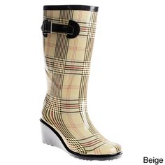 Need some rain boots. Especially for Sonfest. Haha.   Henry Ferrera Women's Rain Boots
