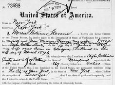 Passports Applications for Genealogy