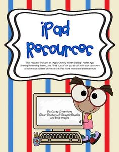 iPad ideas for the classroom and they are free!  Check it out!