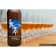 Cerveja: Marimoto Soba Ale, 4,8% ABV, 30 IBU, feita com trigo sarraceno. Cervejaria Rogue Ales, EUA Foto @Rogerio Volgarine  (at volgarine.com.br)