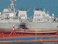 USS COLE - THE HOLE