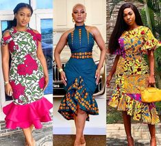 Casual African Print styles for Friday