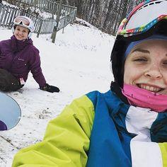 Snowboarding Day! #lifeincanada #snowboarding #girlsday