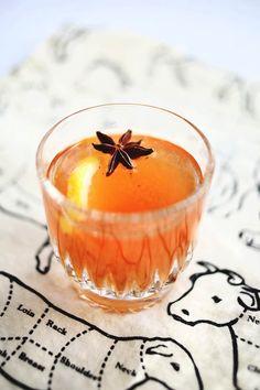 Recipe: Vanilla Bean Whiskey Cocktail