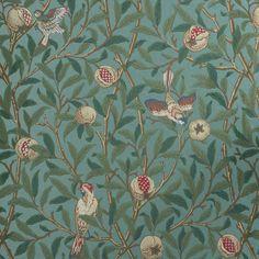 #Morris&co - papier peint Bird and Pomegranate - Morris&co  https://www.william-morris.co.uk