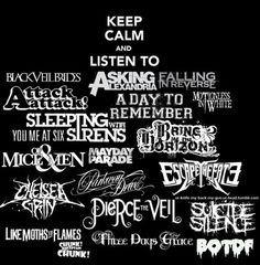Asking Alexandria; Attack Attack!; A Day To Remember; Chelsea Grin; Like Moths To Flames; Chunk! No, Captain Chunk! Fuck the rest of these bands