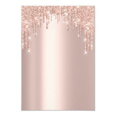 Shop Spark Glitter Drips Rose Lux Bridal Sweet Invitation created by luxury_luxury. Rose Gold Wallpaper, Flower Wallpaper, Iphone Wallpaper, Pink Glitter Background, Sweet 16 Invitations, Aesthetic Backgrounds, Instagram Highlight Icons, Cute Wallpapers, Logo Design