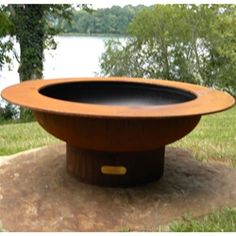Saturn Fire Pit - Save 10% at Fire Pits USA with Coupon Code: FIRE10