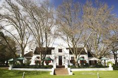 To the manor born - Nederburg Cape Dutch, South African Art, Holland, Curb Appeal, Farmhouse, House Design, Mansions, Cape Town, Architecture