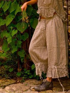 Ropa Shabby Chic, Shabby Chic Outfits, Boho Outfits, Vintage Outfits, Fashion Outfits, Magnolia Pearl, Look Boho Chic, Boho Fashion, Vintage Fashion