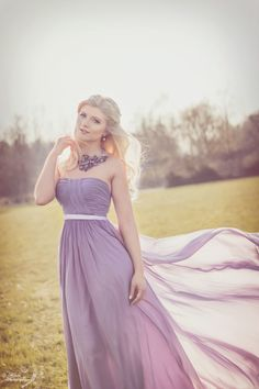 ♥ Simple elegant purple dress, you look so beautiful dear ♥ #edressit #customer #style #dress
