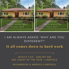 Same house same market different results. 56 Bent Street Lindfield https://goo.gl/1EtFL0  #lindfield #sellinghouses #northshore #randwlindfield #workhard #pointofdifference