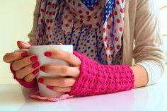 Señorita Vero: Deilige pulsvarmere - i lekker rosa!