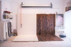 Studio backdrop love! The essentials right here...