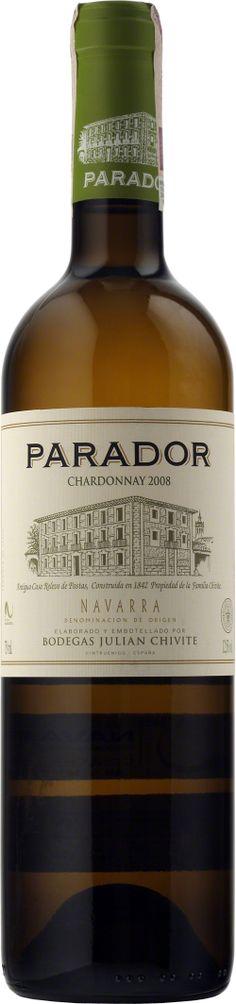 Chivite Parador Chardonnay Navarra D.O. Świeże i rześkie wino o aromatach owocowych i doskonale zrównoważonej owocowości i kwasowości. #Chivite #Parador #Chardonnay #Navarra #Wino #Hiszpania #Winezja
