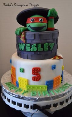 Teenage Mutant Ninja Turtles Cake Designs and Party Ideas