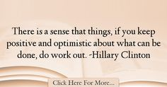 Hillary Clinton Quotes About Work - 74804