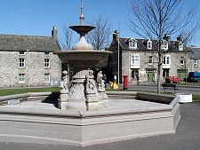 Fochabers Scotland in the Highlands. Visited in 1999.