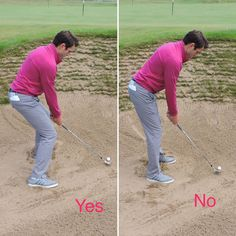 Learning how to play golf bunker shots will save you many shots during a round of golf. Learn these 4 vital parts to playing good golf bunker shots every time. Play Tennis, Play Golf, Tennis Serve, Golf Tips Driving, Golf Apps, Wii Sports, Golf R, Golf Videos, Tennis Clubs
