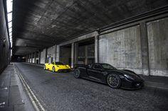 https://flic.kr/p/vtd1Ti   Pagani Huayra and Porsche 918 Shoot in London