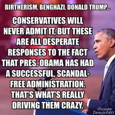 Birtherism, Benghazi, Donald Trump...the list goes on   Occupy Democrats Facebook