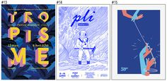 Les 100 plus belles affiches des festivals français en 2016