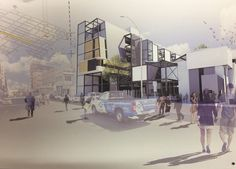 Werner van Zyl: University of the Free State, Bloemfontein, South Africa. Thesis: urban design laboratory.
