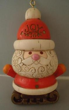 Vintage Hallmark Christmas Ornament@Pennfoster #bemorefestive ...