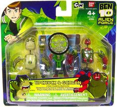 Amazon.com: Ben 10 Alien Creation Chamber Mini Figure 2Pack Upchuck and Gorvan: Toys & Games