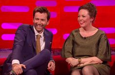 VIDEO: David Tennant And Olivia Colman Interview On The Graham Norton Show