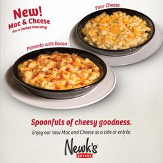 Mondays are tough, but making the decision to pick up some of our Mac and Cheese is not.