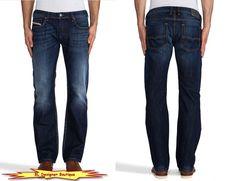 "DIESEL ""Zatiny"" Regular Boot Cut Blue Jeans in 0823U NEW NWT #DIESEL #BootCut"