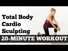 20 Minute Cardio Sculpting Full Body Workout At Home | Total Body Fat Burning Exercise Video - YouTube