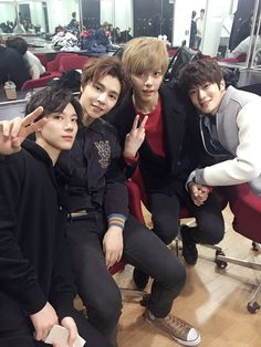 Ten, Johnny, Hansol & Jaehyun
