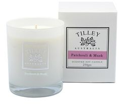 Tilley 45hr Scented Candle - Patchouli Musk