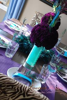 Peacock Birthday Party » Creating Couture Parties :: Ideas & Inspiration for the Party Planner in all of Us!