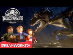 Escape the Indoraptor | LEGO JURASSIC WORLD - YouTube