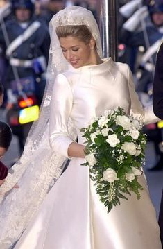Prince Willem-Alexander & Maxima's Wedding (February 2, 2002)