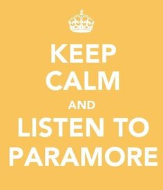 Listen to Paramore