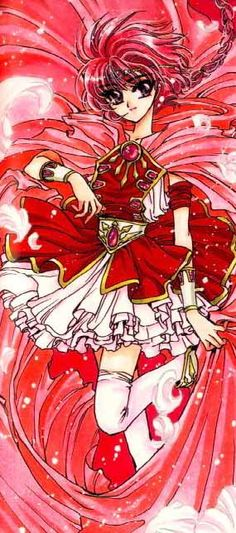 Hikaru from Magic Knight Rayearth. Giving this serious thought this summer.