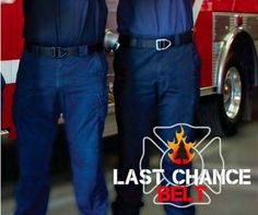 Inspired by the belts used by Wild Land Firefighters and Smoke Jumpers and featuring a high strength aircraft aluminum V-ring buckle, the Last Chance is a solid bet for your waist.  Find it: https://bisondesigns.com/products/38mm-last-chance%E2%84%A2-heavy-duty-gunmetal-buckle