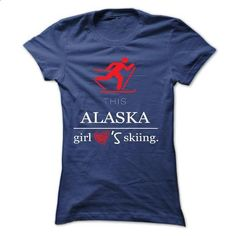 This girl - alaska skiing - #design t shirt #personalized hoodies. ORDER NOW => https://www.sunfrog.com/No-Category/This-girl--alaska-skiing-36724516-Ladies.html?60505