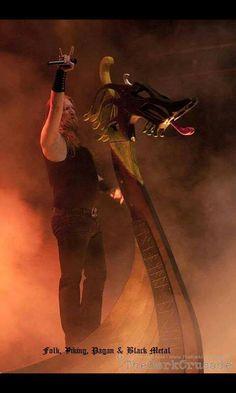 Amon Amarth. Good inspiration for photo manipulation