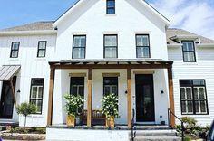 Modern farmhouse exterior designs 44