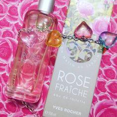 Un matin au jardin. Eau de toilette, Rose fraîche. Yves Rocher. 24€. Une pure merveille. Enivrante et douce.