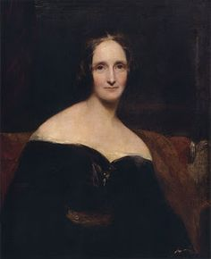 Portrait of Mary Shelley by Richard Rothwell, 1840 -- Author of 'Frankenstein'. Mary was only 18 when she wrote it! Amazing!