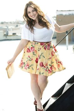{Spring is Here} REAL Curvy Girl inspiration from plus size model Maxey Greene, her blog: http://maxeyday.tumblr.com/