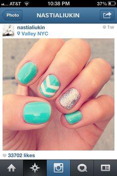 Love pretty green different designs from Nastia Liuken!