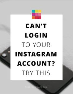 Can't login to your Instagram account on a website or app? Try to do this 2 things.